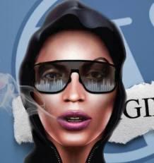 Felicia Lady Rayne McCloud Face TNM Logo